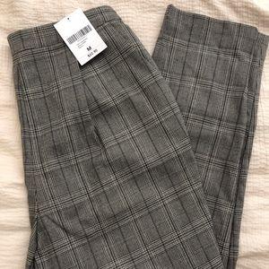 High Waist Plaid Dress Pants, Forever 21, NWT